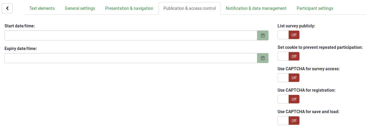 Umfrage erstellen - eine Einführung - LimeSurvey Manual