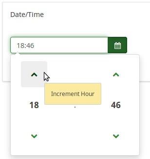 Question type - Date - LimeSurvey Manual