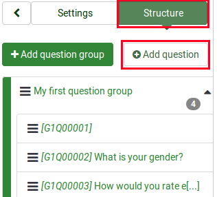 Survey structure - add new question.png