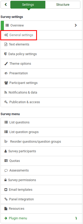 Survey settings General settings.png