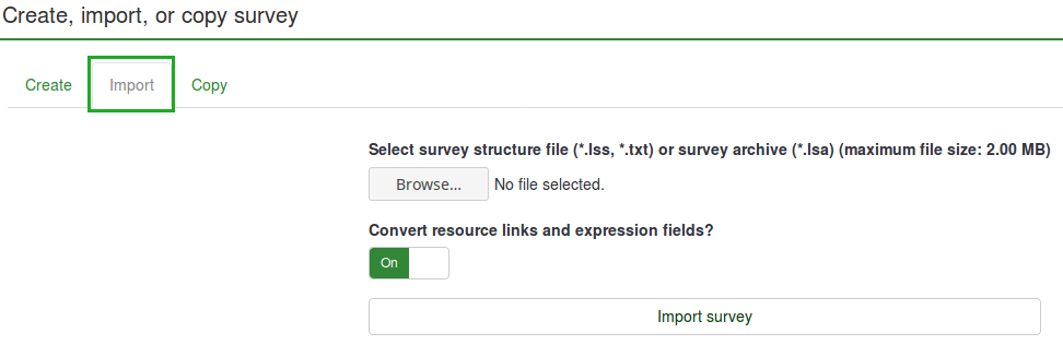 Import a survey.png