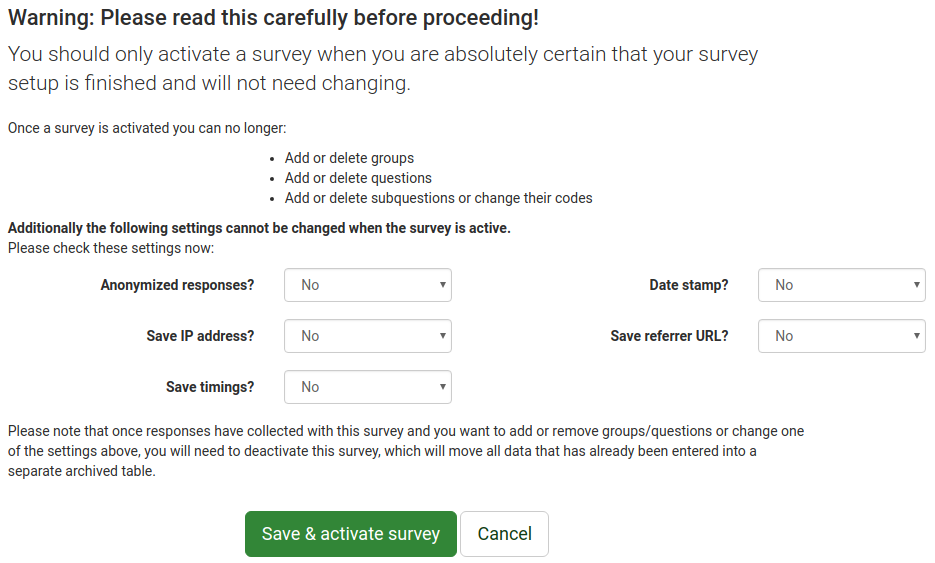 QSG LS3 Save and activate survey.png